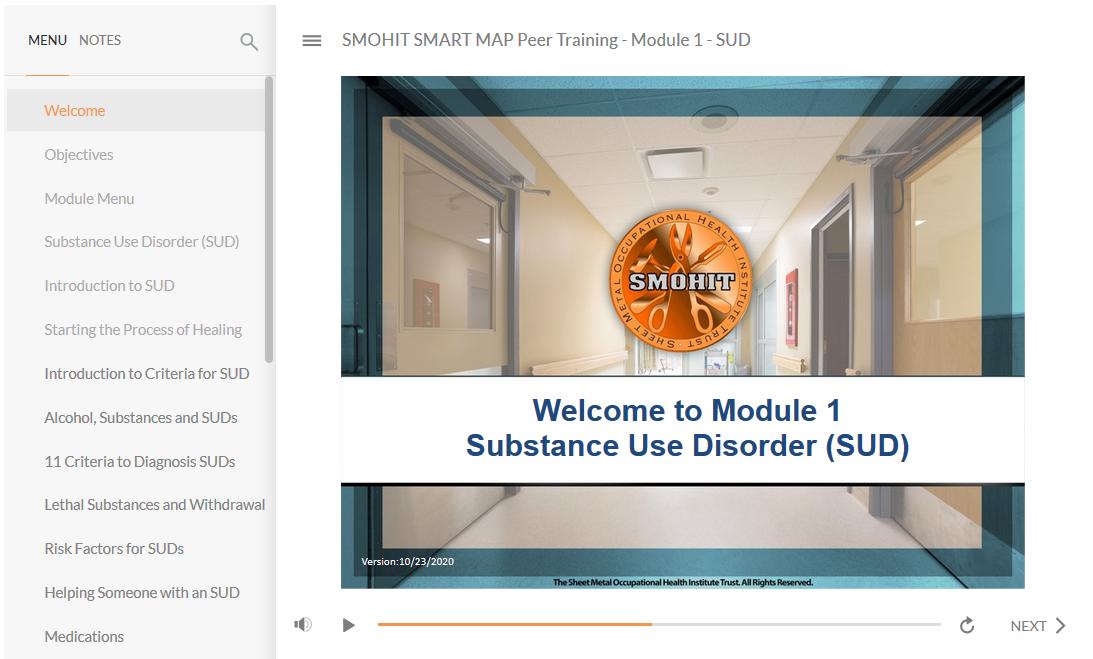 SMOHIT - SMART MAP Peer Training